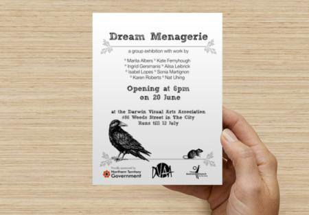 dream menagerie invite